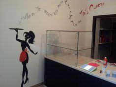 Dipinto su parete that's amore