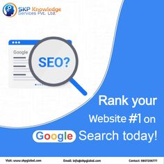 Be found by your visitors! Get your website ranked on the first page of Google! Wonder how to grab the top positions of search results? Hire our SEO experts now! For details, Email: info@skpglobal.com or call 8807206777 #seo #searchengineoptimization #digitalmarketing Online Marketing Strategies, Digital Marketing Services, Content Marketing, Person Running, Seo Consultant, Best Seo Services, Website Ranking, Reputation Management