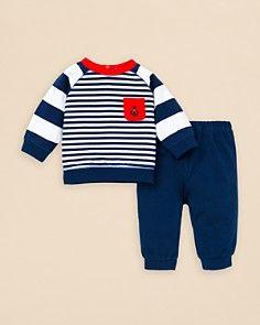 Little Me Infant Boys' Mariner Sweatshirt & Sweatpants Set - Sizes 3-12 Months