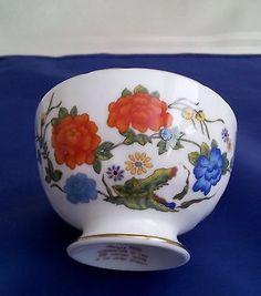 Aynsley Famille Rose Mini Open Sugar Bowl - Pristine!
