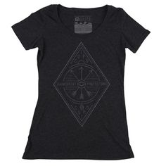 Cuipo Skinny Crest Tee - Vintage Black - $28 | Every Product Saves Rainforest