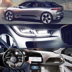 The Jaguar I-Pace Concept #Jaguar #IPace #concept