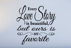 Quotes and Sayings: Love story