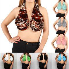 192725d19c Towel Women s Sexy Soft Cotton Bra Boob Sweat Dripping Towel Tops Bikini  Halter