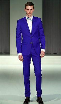 navy suit, skinny black tie. | w e d d i n g | Pinterest | ASOS