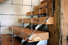 Industrial Stair Industrial Stairs, Wood Stairs, Custom Furniture, Shed, Wooden Ladders, Bespoke Furniture, Wooden Staircases, Lean To Shed, Backyard Sheds