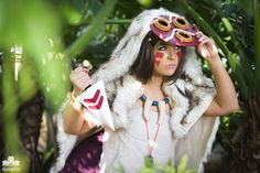 2015 - Orlando Anime Day | Princess Mononoke San by elysiagriffin.deviantart.com on @DeviantArt