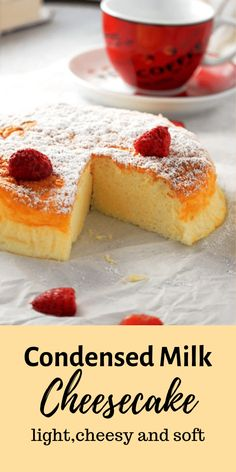 Want a cheesecake that's light and creamy with the right level of indulgence? try this condensed milk cheesecake and be delighted by its delicate texture. Brownie Desserts, Oreo Dessert, Mini Desserts, No Bake Desserts, Dessert Recipes, Plated Desserts, Delicious Desserts, Cheesecakes, Nutella