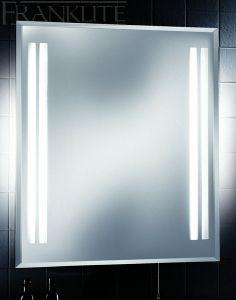 Franklite FRN25EL IP44 Illuminated Bathroom Mirror With Shaver Socket
