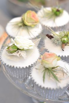 Small Florets for Cupcakes