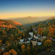 Špania Dolina, Slovakia - this is where my grandparents used to live and my mom when she was really little. Road Trip Europe, Places In Europe, Places To See, Beautiful Sites, Beautiful Places To Travel, Travel Around The World, Around The Worlds, Mountain Landscape, Nature Photography