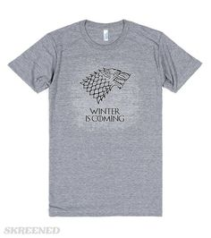 Winter+is+Coming+(+Stark+)+2 | game+of+thrones,+snow,+nights+watch,+crows,+geek,+nerd,+geeky,+fantasy,+rock,+stark,+lannister,+wolf,+winter+is+coming,+a+song+of+ice+and+fire,+john,+north,+winterfell,+crow,+raven,+film,+movies,+tv,+show,+white,+grey,+dark,+books,+targaryen,+fire,+dragon,+dragons,+cool,+gothic,+mystic,+games,+gamer,+pc,+xbox,+ps,+winter,+christmas,+westeros,+pop,+culture #Skreened