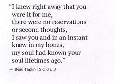 Beau Taplin 'Souls'