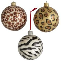 The animal print ornaments...what is your chirstmas tree without them?? lol