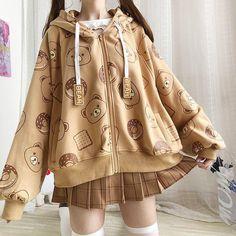 Harajuku Fashion, Kawaii Fashion, Cute Fashion, Harajuku Clothing, Harajuku Style, Japan Fashion, Teen Fashion Outfits, Mode Outfits, Girl Outfits