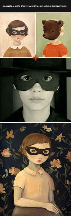 """real art for a fictitious world. / sfgirlbybay """"buying art for amelie"""" ... paintings by emily winfield martin"""