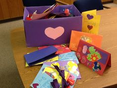 Empathy Lesson - Created and shared Valentines for local hospital and elderly home.