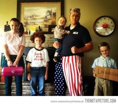 This family wins…