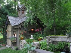Adorable garden sheds