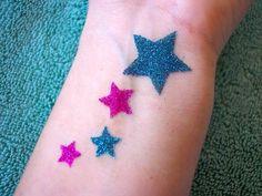 Cute, removable tatoos...