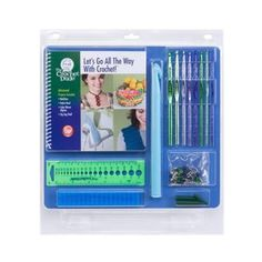 The Crochet Dude Let's Go All The Way With Crochet Kit