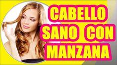 REMEDIO NATURAL CON VINAGRE DE MANZANA PARA UN CABELLO SANO