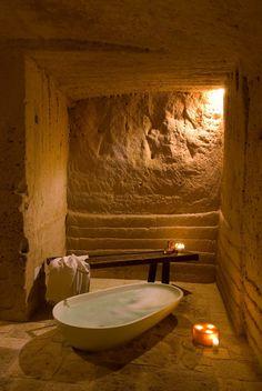 Le Grotte della Civita, #Matera, 2009 #italy  by Berg & Kihigren  #architecture #cave #sassi #unesco #resorts #hotel
