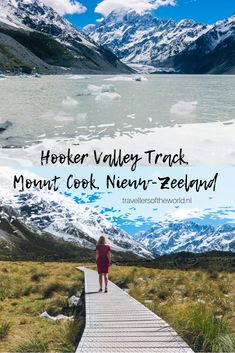 Hike de Hooker Valley Track in Nieuw-Zeeland! - Travellers of the world New Zealand Travel, Bergen, Auckland, Australia Travel, All Over The World, Travel Inspiration, Travel Tips, Beautiful Places, Road Trip