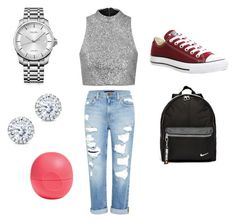 """""""Statement Shoes"""" by fearlesscy on Polyvore featuring Genetic Denim, Topshop, Converse, NIKE, Calvin Klein, Kobelli and Eos"""