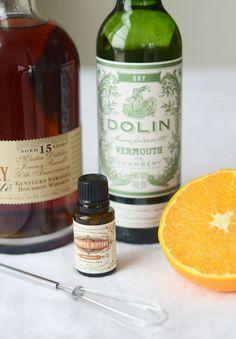 Citrus Manhattan cocktail recipe   Camille Styles