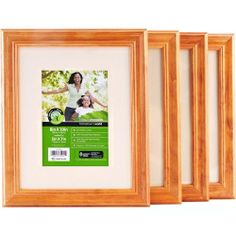 Use these frames to create a color-customized & impressive photo wall ($36!)