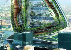 """A lire sur Citazine.fr : L'architecte Vincent Callebaut travaille le biomimétisme pour """"fantasmer la ville"""""""