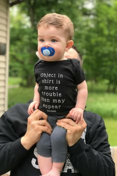 LITTLE BITTY BABY DUDS - Lenny Lemons Collections, Best outfits for babies, baby fashion. Funny quotes, cotton clothes for babies. Object in tshirt is more trouble than appear. Bitty Baby, Baby Boys, Baby Boy Newborn, Girl Toddler, Carters Baby, Kids Girls, Funny Babies, Funny Kids, Cute Babies