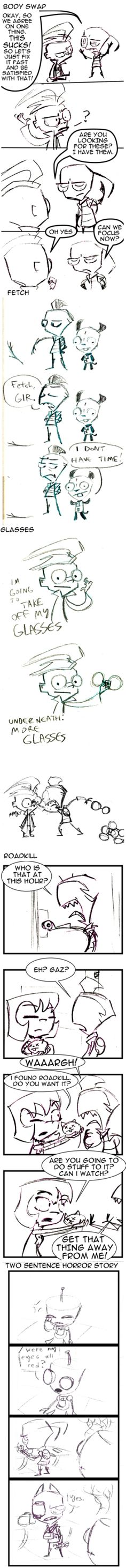 Mega Comic Fun Pack by HideousBlob on deviantART, the first one is my favorite XD adorable :)