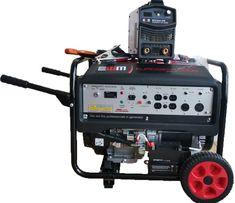 COMBO BUFALO 200 PLUS CON EUROGEN 10000 Lawn Mower, Outdoor Power Equipment, Lawn Edger, Grass Cutter