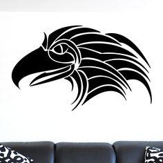 nice Eagle Head v2 Bird of Prey Wall Sticker