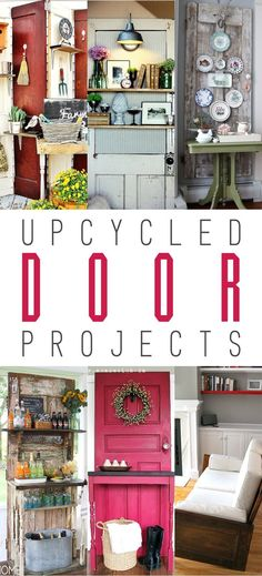 Upcycled Door Projects
