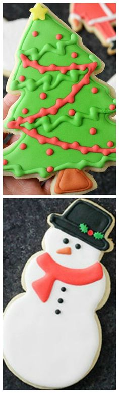 How To Decorate Cookies With Royal Icing ~ This royal icing dries nice and firm, so you can easily stock the cookies, wrap them, whatever your preference and transport them.