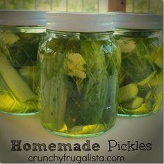 Homemade Dill Pickle Recipe