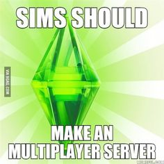 They did. It was called Sims Online. It didn't end well...