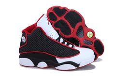 Womens Air Jordan 13 (XIII) Retro Red Black White