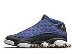 official photos ead29 7cafa Homme Air Jordan 13 Retro Low Brave Blue 310810-407 Bleu Air Jordan pas cher