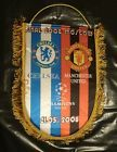 For Sale - Big Pennant MANCHESTER United CHELSEA 2008 Champions League Final type 2 - See More at http://sprtz.us/ManUtdEBay