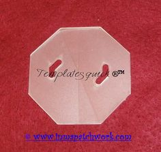 Octogono Templatesquick ® ™ plantilla plastico reutilizable