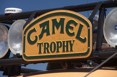 Camel Trophy, a Land Rover thing.