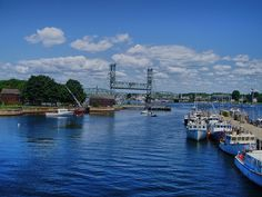 Bridge from Portsmouth, NH to Kittery, Maine