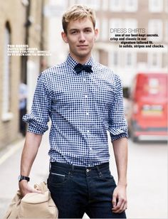 the ramblings of a sophisticated individual.Crew 'Men Of Monocle' For Spring/Summer 2010 Estilo Nerd, Casual Wear, Men Casual, J Crew Men, Mens Fashion, Fashion Outfits, Work Wardrobe, Preppy, Shirt Style