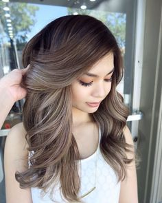 Pin By Zoey Peterson On Balayage In 2019 Hair Makeup Dyed Hair - teen hairstyles color young teen hairstyles Teen Hairstyles, Fancy Hairstyles, Ponytail Hairstyles, Summer Hairstyles, School Hairstyles, Popular Hairstyles, Hairdos, Weave Hairstyles, Straight Hairstyles