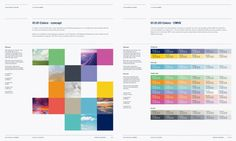 Copenhagen Airport's branding guidelines and color scheme by Muggie Ramadani
