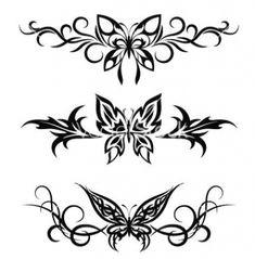 Swag Tattoo, Dope Tattoos, Pretty Tattoos, Mini Tattoos, Tribal Tattoos, Small Tattoos, Tribal Butterfly Tattoo, Butterfly Tattoos For Women, Piercing Tattoo